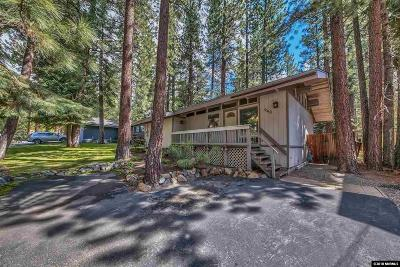 Incline Village Single Family Home Active/Pending-Loan: 940 Harold Drive