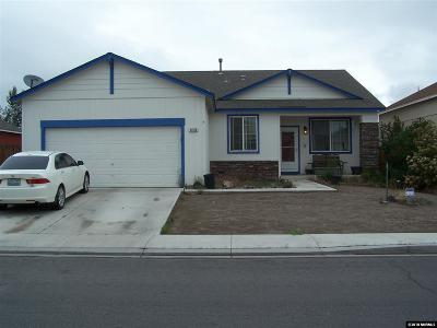 Fernley Single Family Home For Sale: 1430 Shadow