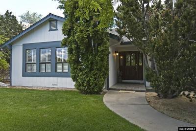 Gardnerville Single Family Home Active/Pending-Call: 1091 Oro Way