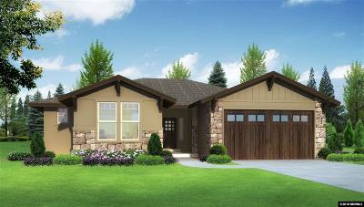Carson City Single Family Home For Sale: 1128 Drysdale Ct Lot 31