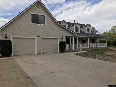 Gardnerville Single Family Home For Sale: 1811 Helman Drive