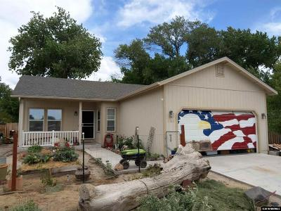 Fallon Single Family Home Active/Pending-Loan: 1383 Sherman