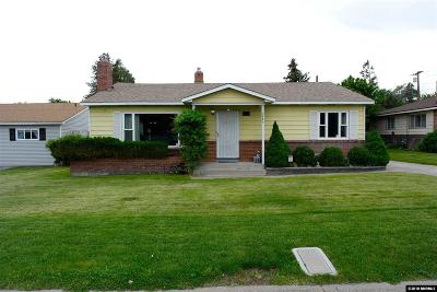 Reno Single Family Home Active/Pending-Loan: 2480 Idlewild Dr.