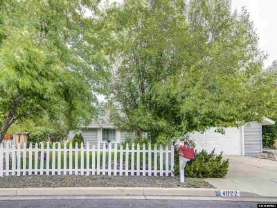 Carson City Single Family Home Active/Pending-Call: 4822 Aquifer Way