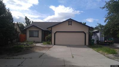 Sparks Single Family Home Active/Pending-Short Sale: 320 Blue Skies