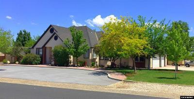 Fallon Single Family Home Active/Pending-House: 747 Sunrise Terrace