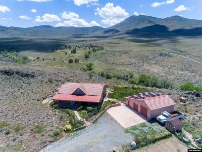 Reno Single Family Home For Sale: 3415 Basque Oven Road