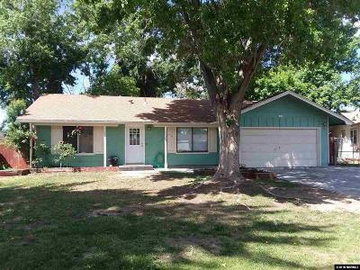 Sparks Single Family Home Active/Pending-Loan: 345 O'brien Way