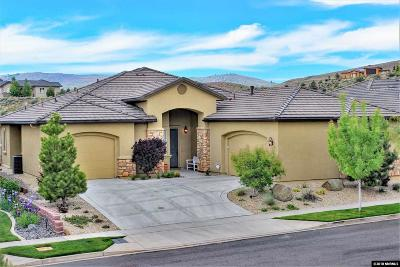 Reno Single Family Home Active/Pending-Loan: 8770 Oak Hollow Way