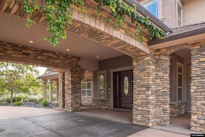 Carson City Single Family Home Active/Pending-Loan: 1733 Brush Dr