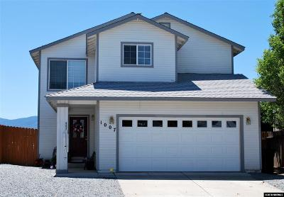 Carson City Single Family Home Active/Pending-Loan: 1007 Mica Drive