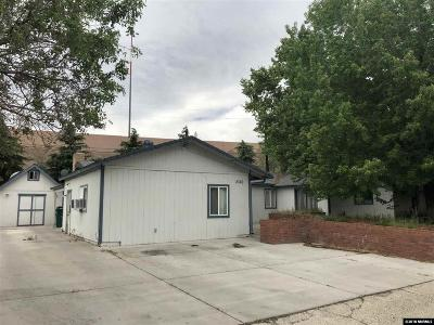 Reno Single Family Home For Sale: 2360 Trident Way