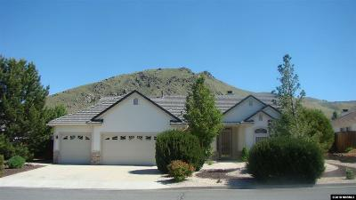 Carson City Single Family Home Active/Pending-Loan: 2581 Bedford Way