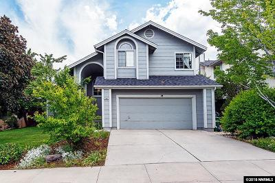Reno Single Family Home Price Reduced: 3944 Regal Drive