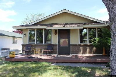 Carson City Single Family Home Price Reduced: 2519 Baker Drive