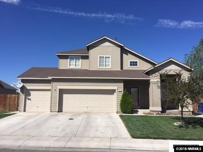 Fernley Single Family Home For Sale: 2012 Rawles Drive