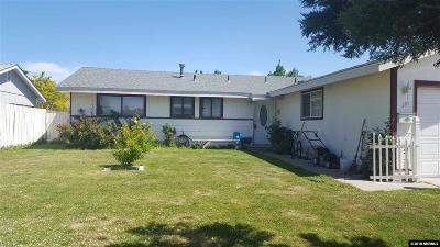 Carson City Single Family Home For Sale: 210 Applegate