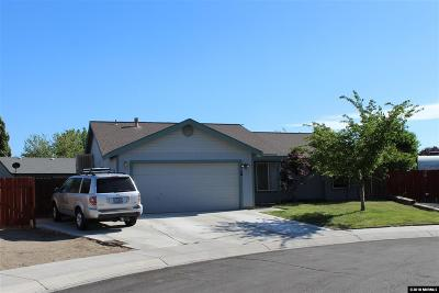 Fernley Single Family Home For Sale: 303 Wildrose