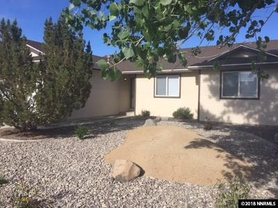 Fernley Single Family Home For Sale: 1216 Jacob