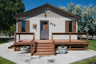 Battle Mountain Single Family Home For Sale: 515 E 8th Street