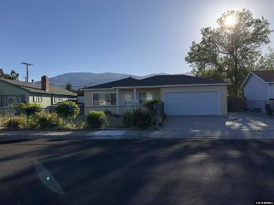 Carson City Single Family Home Active/Pending-Loan: 1808 N Division Street