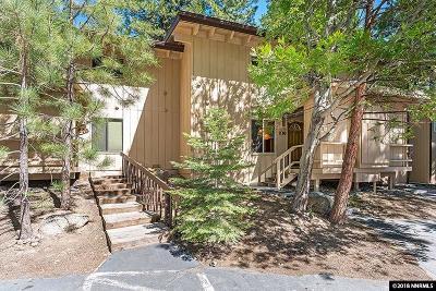Incline Village Condo/Townhouse For Sale: 321 Ski Way #218