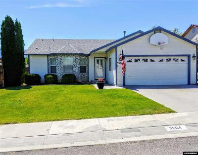 Carson City Single Family Home Active/Pending-Call: 3564 Loam Ln
