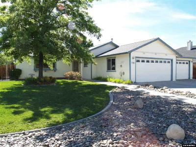 Gardnerville Single Family Home Active/Pending-Loan: 776 Mammoth Way