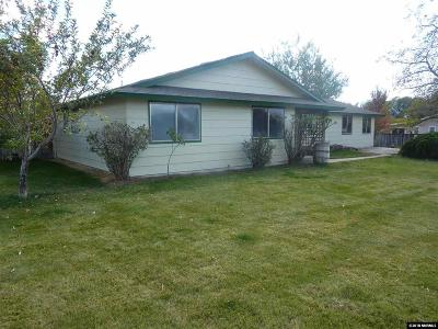 Minden Single Family Home For Sale: 1351 Saratoga