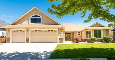 Gardnerville Single Family Home Active/Pending-House: 1418 Kittyhawk Ave
