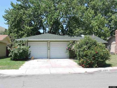 Carson City Single Family Home Active/Pending-Call: 222 S Richmond Ave