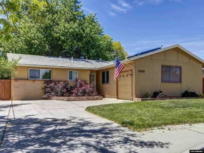 Sparks Single Family Home Active/Pending-Loan: 3255 Elaine Way