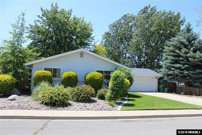 Carson City Single Family Home Active/Pending-Loan: 3400 Hickory Drive