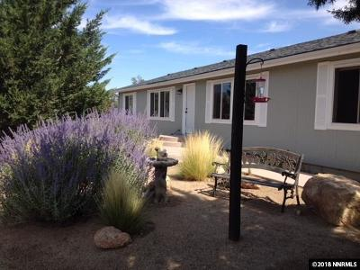 Reno Manufactured Home For Sale: 16150 Fetlock Drive