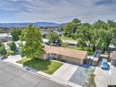 Carson City Single Family Home Active/Pending-Call: 501 Agate Drive