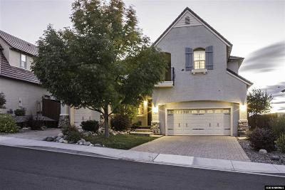 Sparks Single Family Home For Sale: 1735 Cloud Peak Drive
