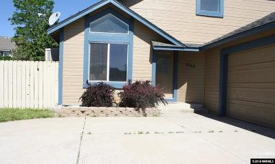 Sparks Single Family Home Active/Pending-Loan: 6825 Evening Star Drive