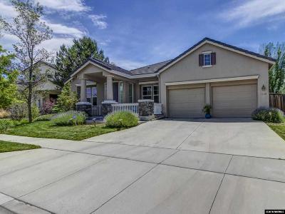 Reno Single Family Home Active/Pending-Loan: 7850 Morgan Pointe Cir