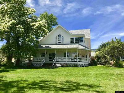 Reno Single Family Home For Sale: 4045 Fairview Rd