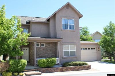 Sparks Single Family Home For Sale: 1022 Marble Hills Cir