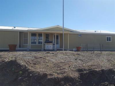 Reno Manufactured Home For Sale: 17360 Us Highway 395