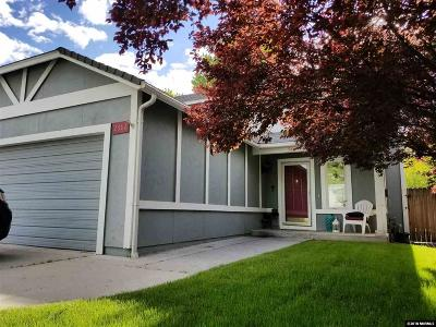Carson City Single Family Home Active/Pending-Loan: 2682 Sycamore Glen Drive