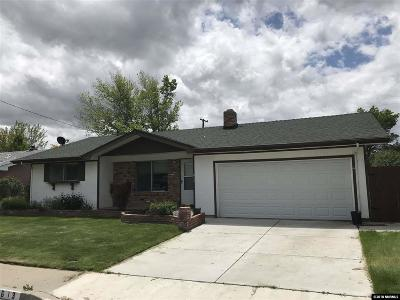 Carson City Single Family Home Active/Pending-Call: 613 Norrie