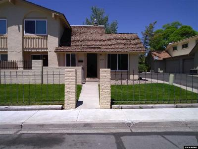 Carson City Condo/Townhouse Active/Pending-Loan: 4024 Pheasant Drive