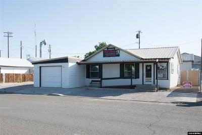Battle Mountain Commercial For Sale: 169 E 2nd Street