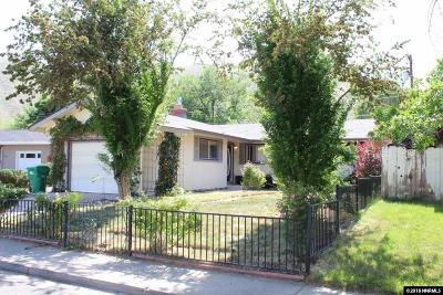 Carson City NV Single Family Home Active/Pending-Loan: $259,000