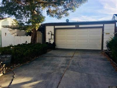 Carson City Single Family Home Active/Pending-Short Sale: 31 Granite Way