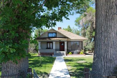 Yerington Single Family Home For Sale: 850 W Goldfield
