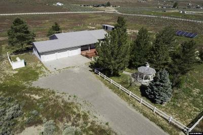 Reno Single Family Home For Sale: 15555 Elkhorn Lane