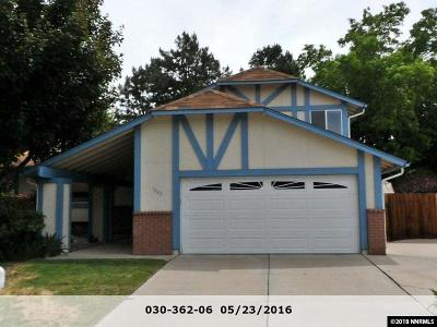 Single Family Home Active/Pending-Loan: 1842 Espee Court #Sparks